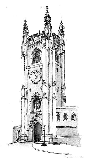 soldiers tower drawing