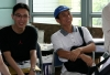 In this photo: Raymond Ng (BASc 2003 ELEC), and George Chan (BSc 1983 UC)