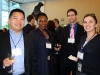 L to R: Mike Ng, Andrea Murray (HBSc 1991 ARTSC VIC), Darcy Gentleman (HBSc 1999 ARTSC UC), Jaime Lavallee (LLB 2000 LAW)