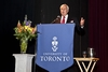 Honourable David Peterson, Chancellor, U of T (LLB 1967 LAW)